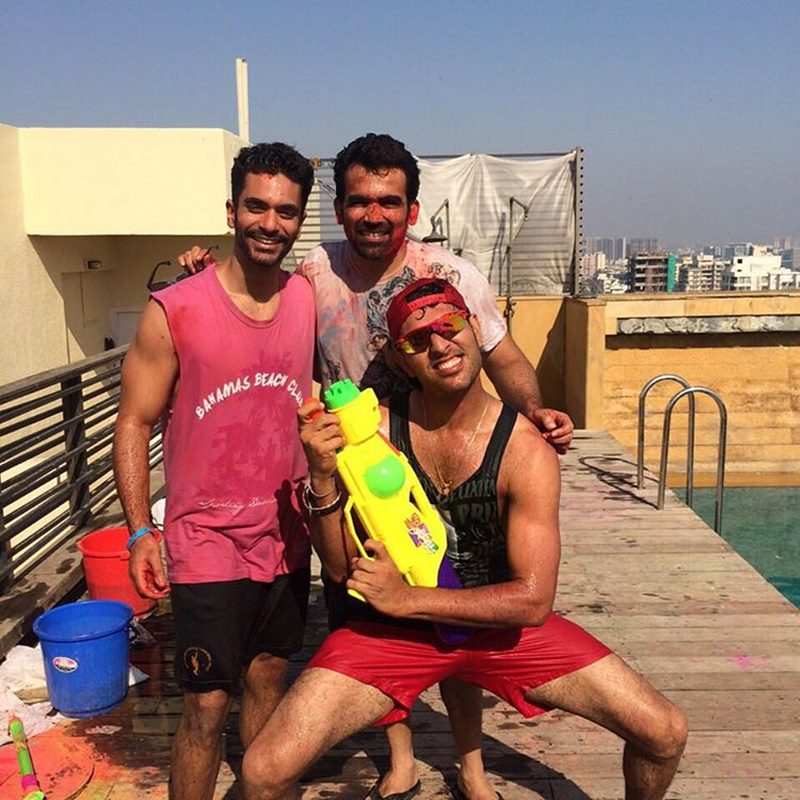 10 Hot Pictures of Angad Bedi that will make you wish he was your man!- Angad Holi