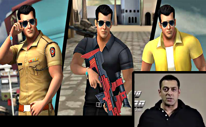 Salman Khan Launches Being SalMan Game | Check Out The Teaser