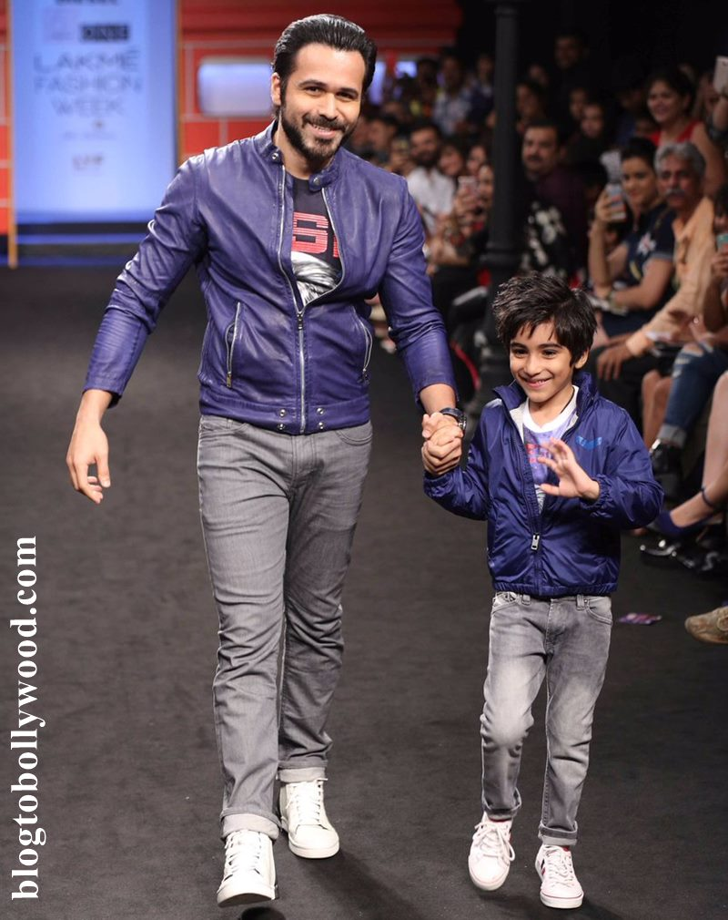 Emraan Hashmi's son Ayaan has already decided that he wants to be an actor!