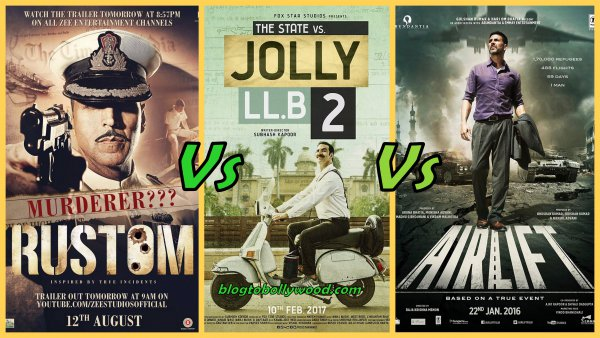 Jolly LLB 2 Vs Rustom vs Airlift Vs Housefull 3 Box Office Collection Comparison