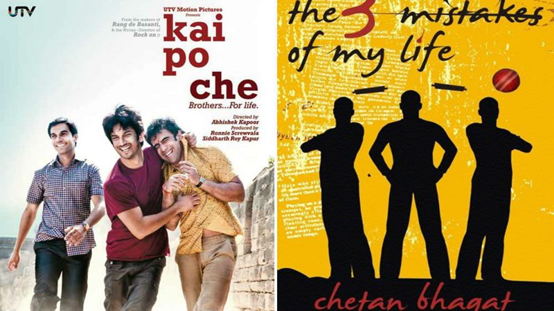 Top 10 Bollywood Movies based on Best Seller Novels- Kai Po Che