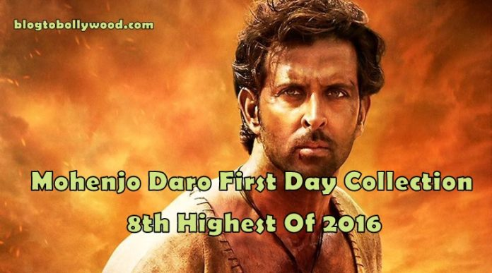 Mohenjo Daro First Day Collection: 1st Day Box Office Collection And Occupancy Report