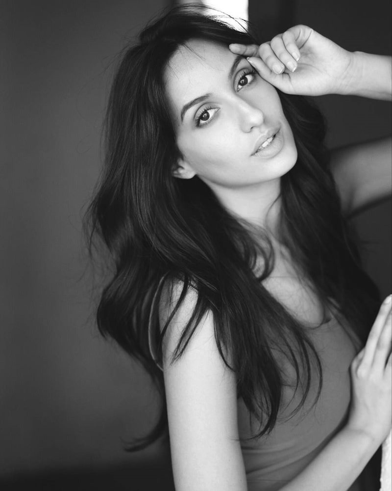 15 Hot Pictures of Nora Fatehi that will spice up your day right up!- Nora bnw