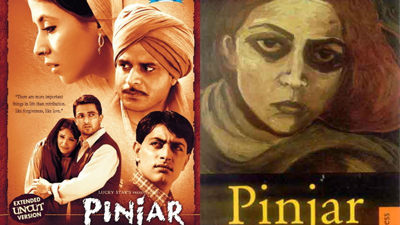 Top 10 Bollywood Movies based on Best Seller Novels- Pinjar