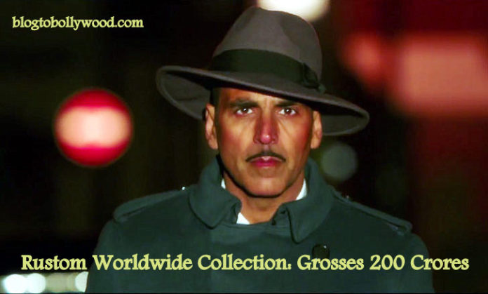 Rustom 16th Day Collection: Grosses 200 Crores Worldwide On 3rd Saturday