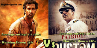 Rustom Vs Mohenjo Daro Opening Day: Morning, Noon Shows Occupancy And Estimated Collection