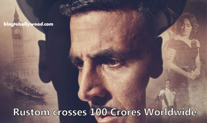 Rustom worldwide Box Office collection