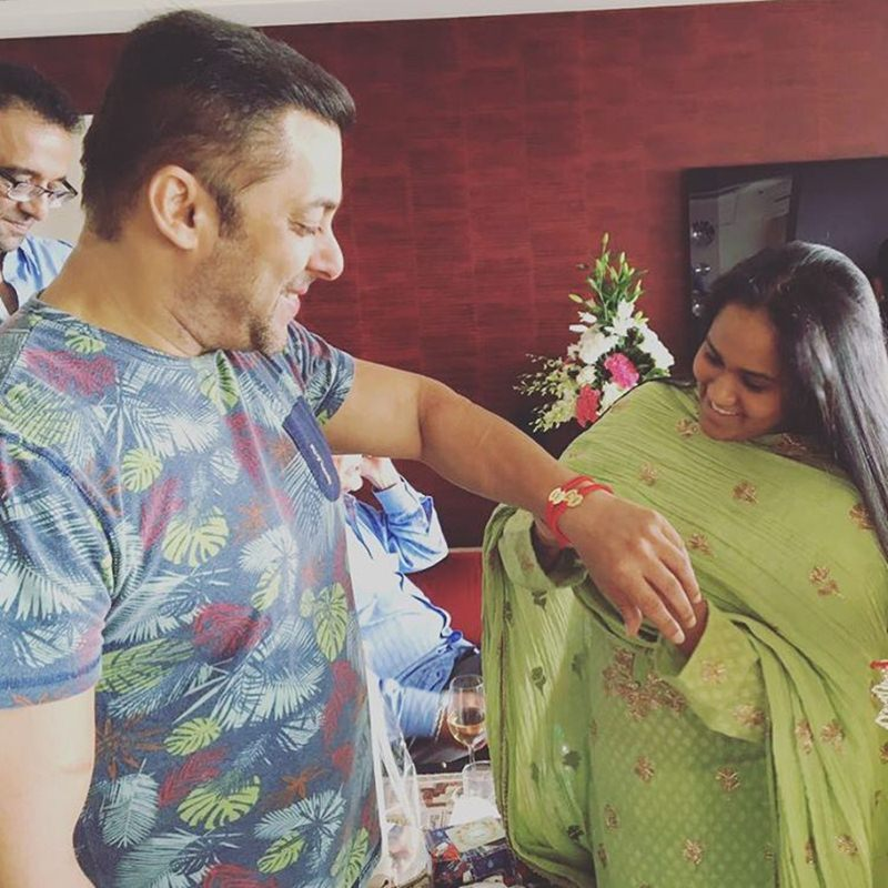 Pictures | Arpita Khan Sharma shared some great pics of the Khan's Rakhi celebration- Salman Arpita