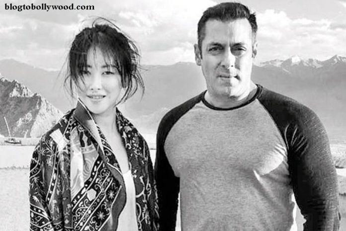 Chinese actress Zhu Zhu makes Salman angry, Tubelight may have another actress!