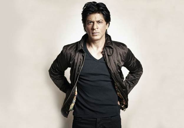 Shah Rukh Khan at no. 2