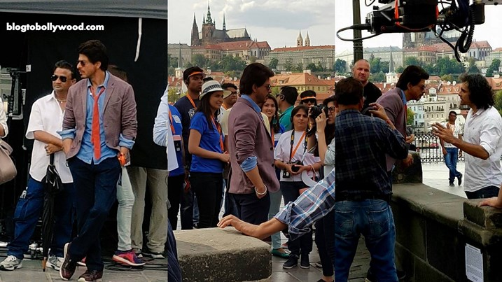 Video: Shahrukh Khan Shooting On Arijit Singh's Song In Prague For Imtiaz Ali's Film