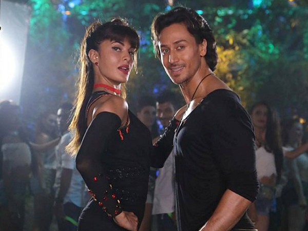 Tiger and Jacqueline in ' A Flying Jatt'