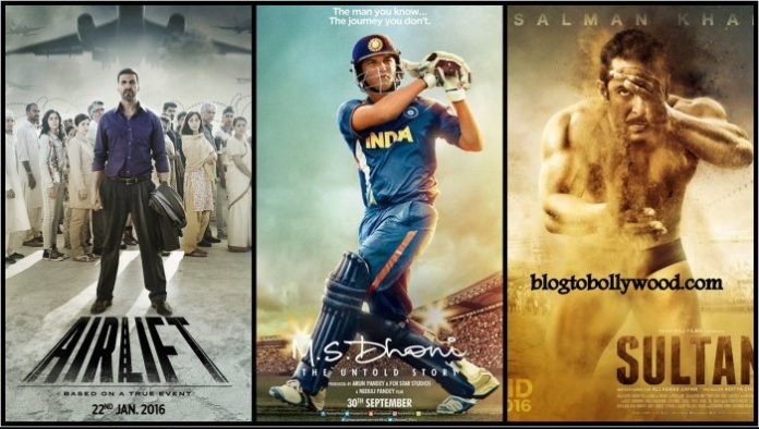 Highest Grossing Bollywood Movies 2016: Top Grossers Of Bollywood 2016rs Of Bollywood 2016 | Highest Grossing Movies Of 2016