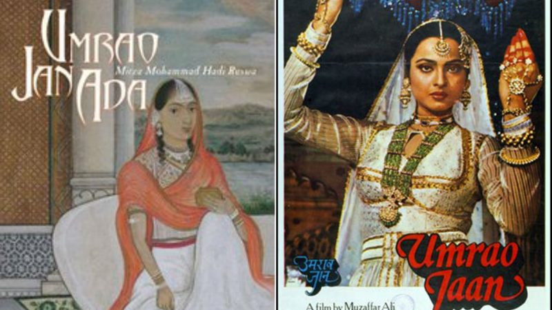 Top 10 Bollywood Movies based on Best Seller Novels- Umrao Jaan