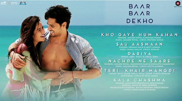 Baar Baar Dekho Full Music Album And Songs: Lovely Album