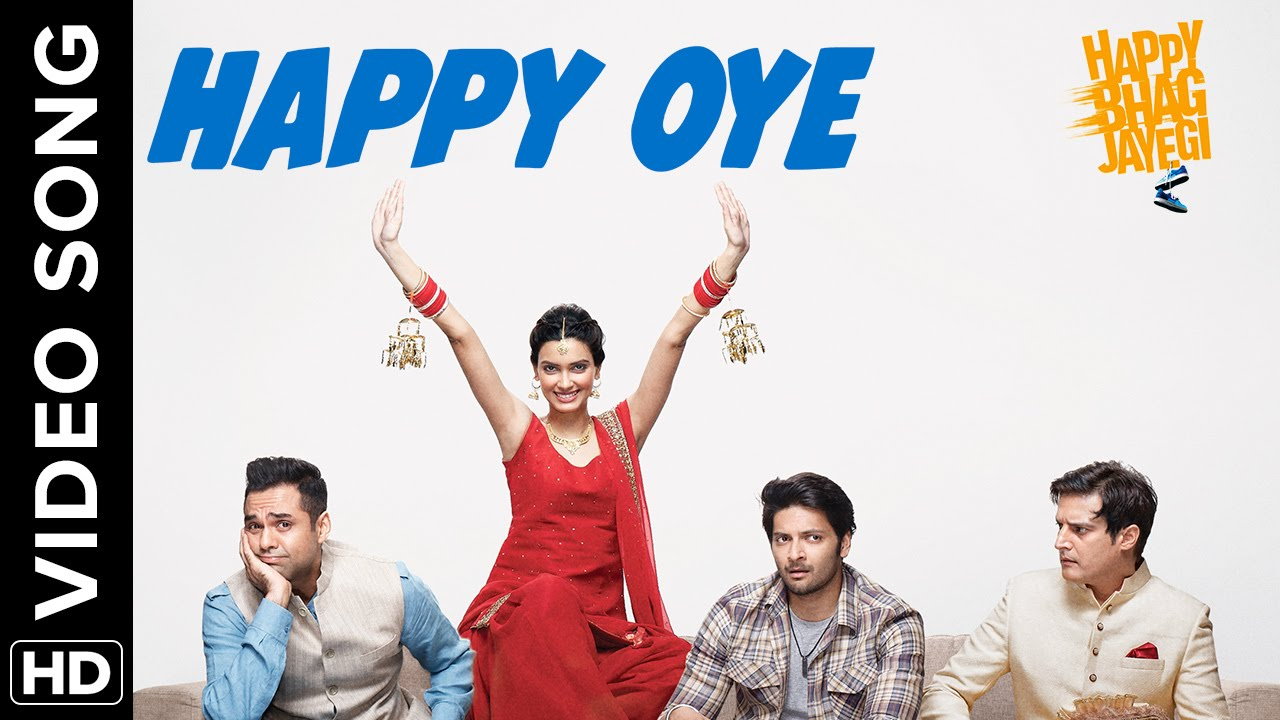Watch Happy run around like crazy in 'Happy Oye' video from Happy Bhag Jayegi