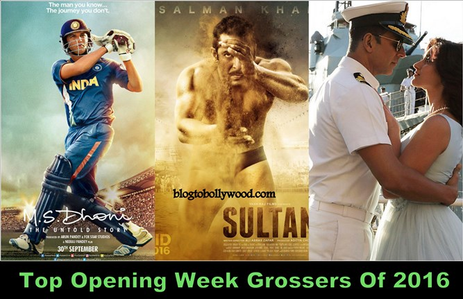 Top opening week grossers of 2016 highest opening week - Highest box office collection bollywood ...