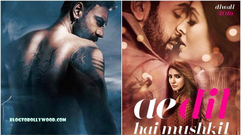 Ae Dil Hai Mushkil, Shivaay Opening Day Collection Reports: Occupancy & Estimated First Day Earnings