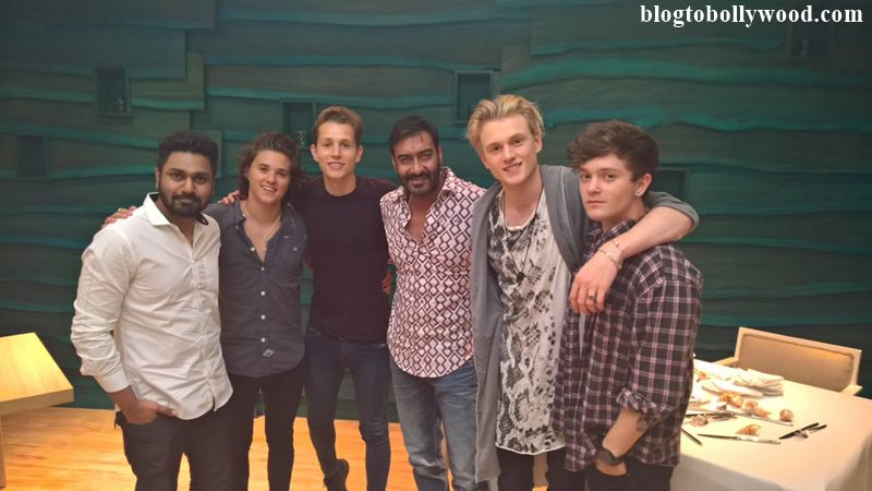 Ajay Devgn collaborates with British band The Vamps for Shivaay soundtrack!