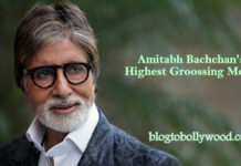 Highest Grossing Movies Of Amitabh Bachchan