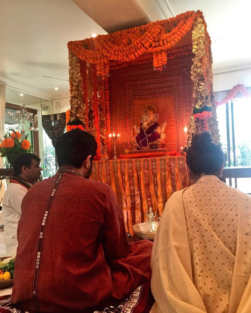 Pictures | Bollywood Celebs welcome Ganpati Bappa into their homes!- Anil Kapoor