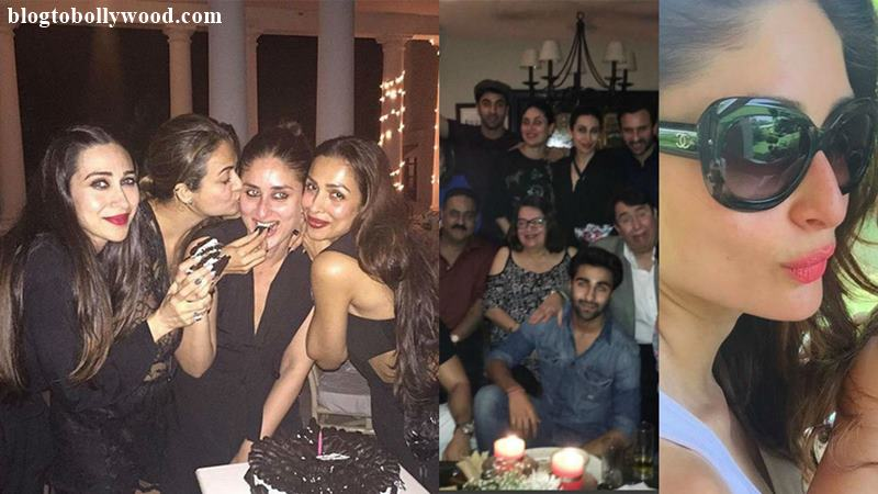 Saif's daughter Sara joins the Kapoors in ringing Kareena's 36th birthday!