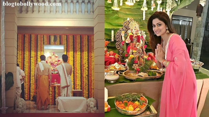 Pictures | Bollywood Celebs welcome Ganpati Bappa into their homes!