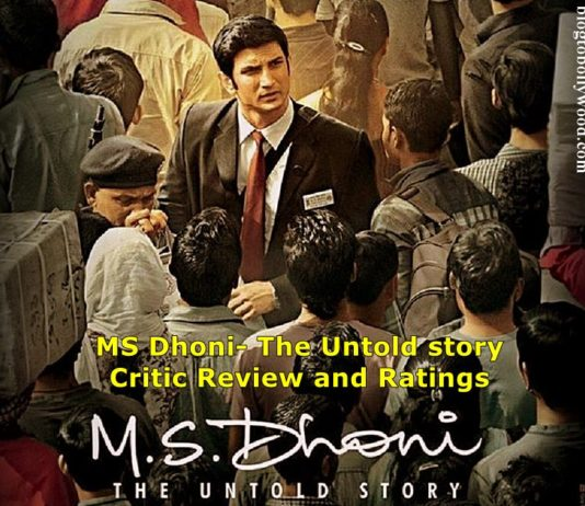 MS Dhoni- The Untold Story Critic Reviews and Ratings, Audience Reviews