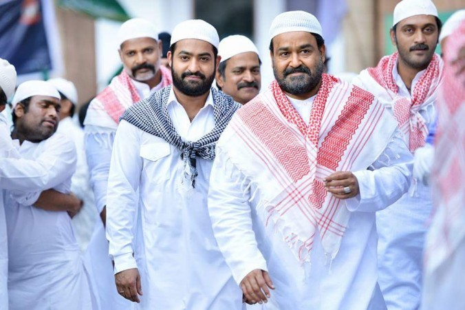 Mohanlal and Jnr. NTR in Janatha Garage