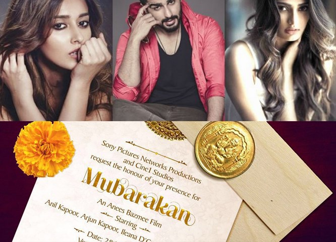 Mubarakan Release Date: Anil Kapoor, Arjun Kapoor, Athiya Shetty & Ileana D'Cruz Invite You For The Wedding Of The Year