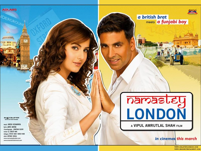 convincing and wins most of the viewers' attention- Namastey London