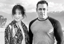Salman Khan and Zhu Zhu