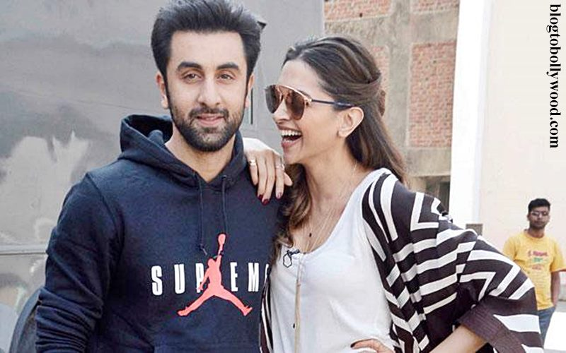 What's up guys? Ranbir Kapoor and Deepika Padukone spend time with each other!