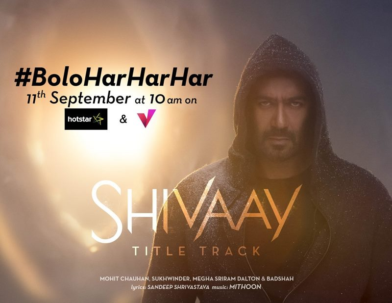 Here are some very interesting stills from Shivaay Title Track Bolo Har Har Har- Shivaay Title Track