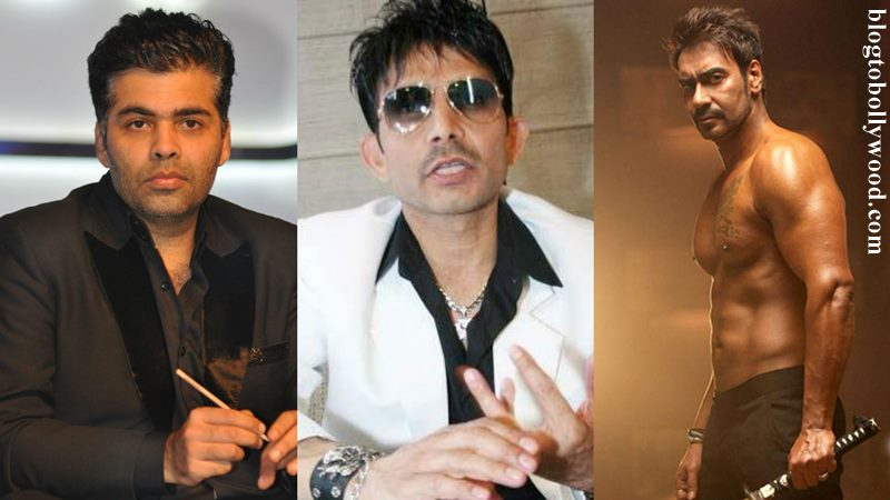 Shivaay Vs ADHM game gets dirtier! KRK confesses KJo paid him to tweet against Shivaay, Ajay Devgn demands enquiry