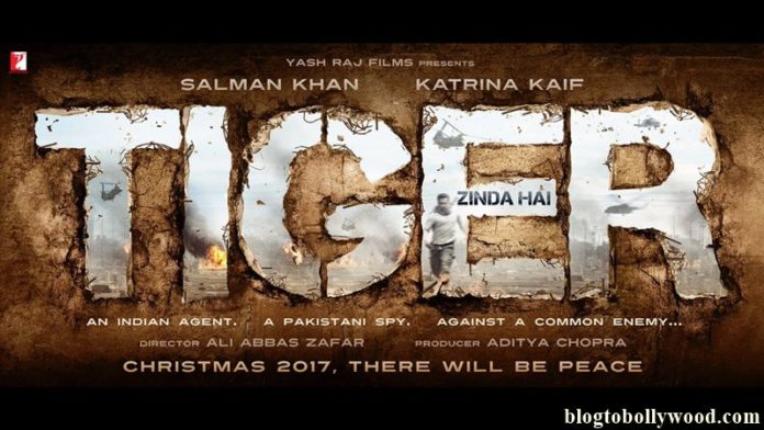 It's going to be Katrina Kaif opposite Salman Khan in Tiger Zinda Hai poster and release date out!