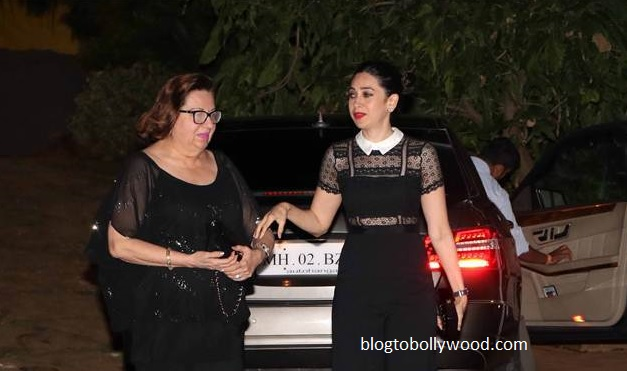 karisma kapoor at Ranbir's bash