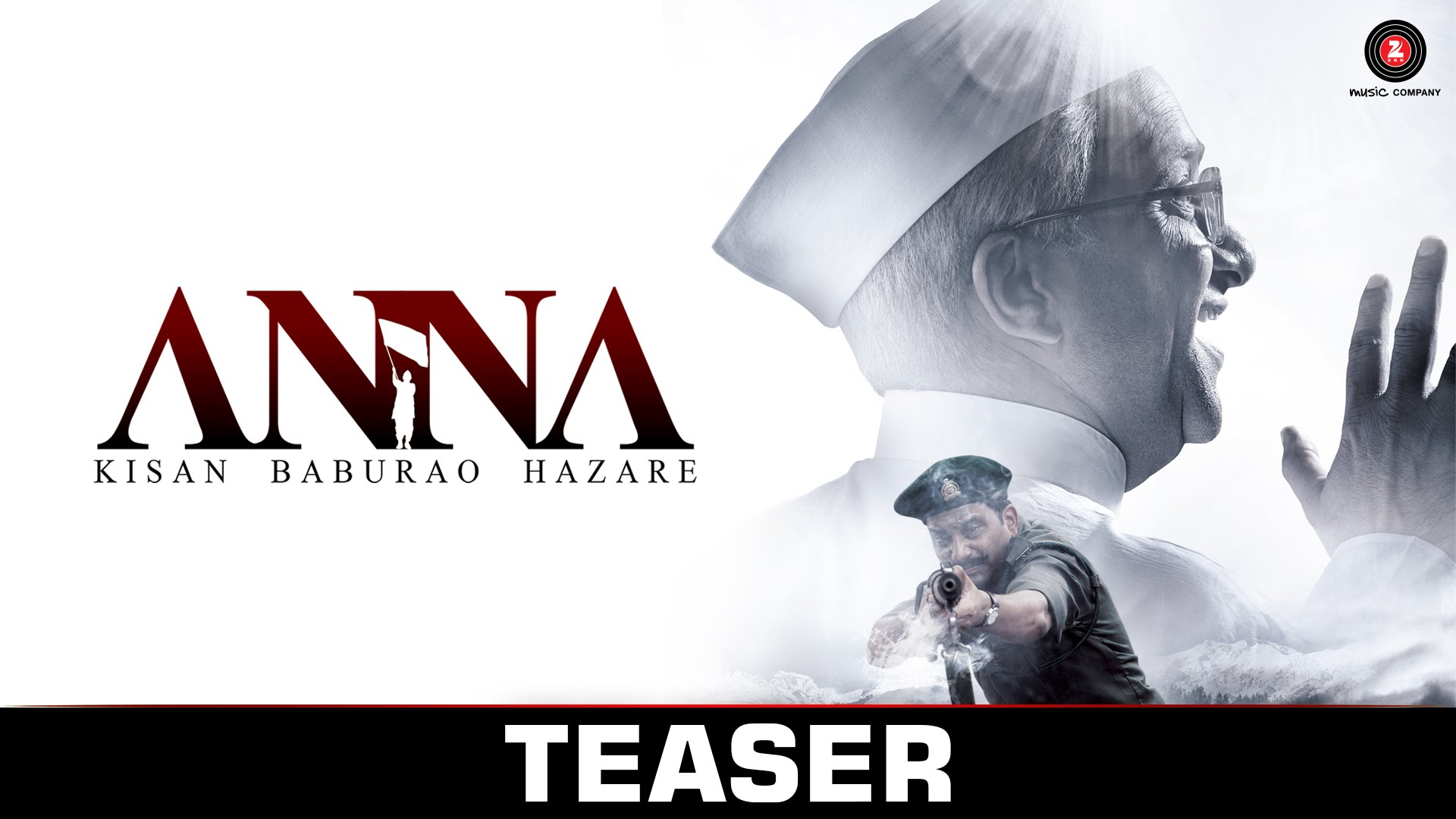 Watch | The Official Teaser of Anna: Kisan Baburao Hazare is out!