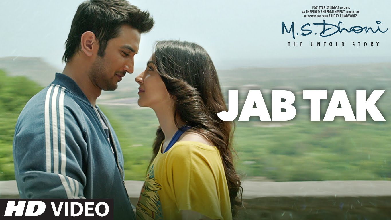 Sushant Singh Rajput and Kiara Advani look so made for each other in Jab Tak song!