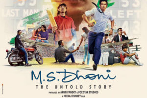 MS Dhoni: The Untold Story Poster