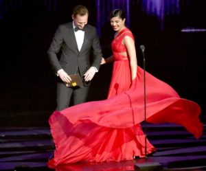 Priyanka with Tom Hiddleston