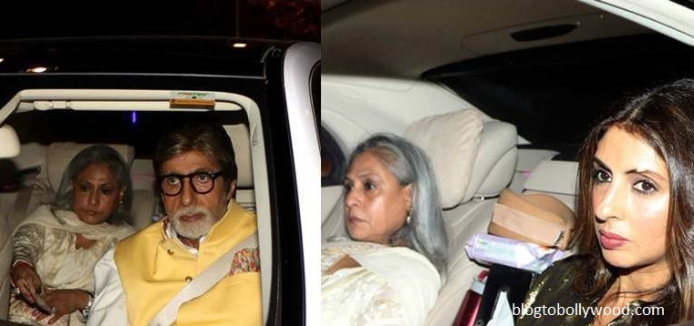 Bachchan's at Ranbir Kapoor's birthday bash