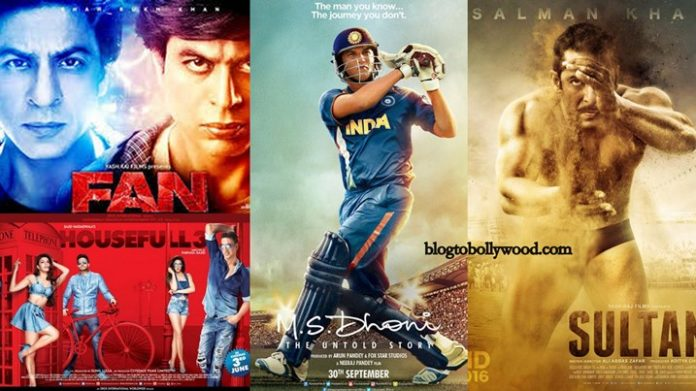 Top Opening Day Grossers Of 2016   Highest Opening Day Collection Bollywood 2016