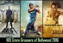 100 Crore Grossers Of 2016