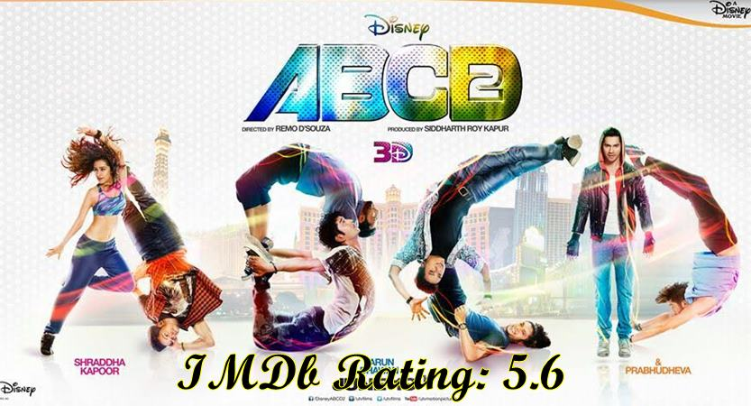 5 Best Varun Dhawan Movies based on IMDb Ratings- ABCD 2