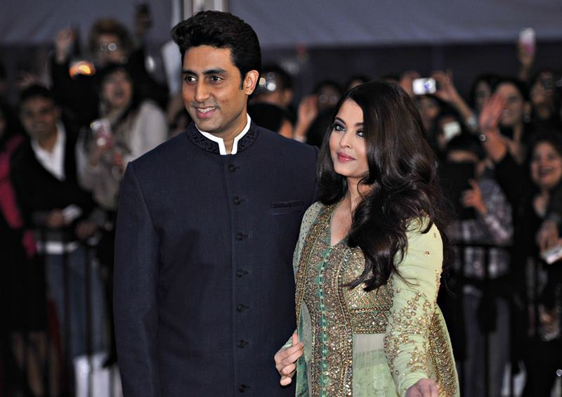 Hottest Married Couples of Bollywood- Aish-Abhi