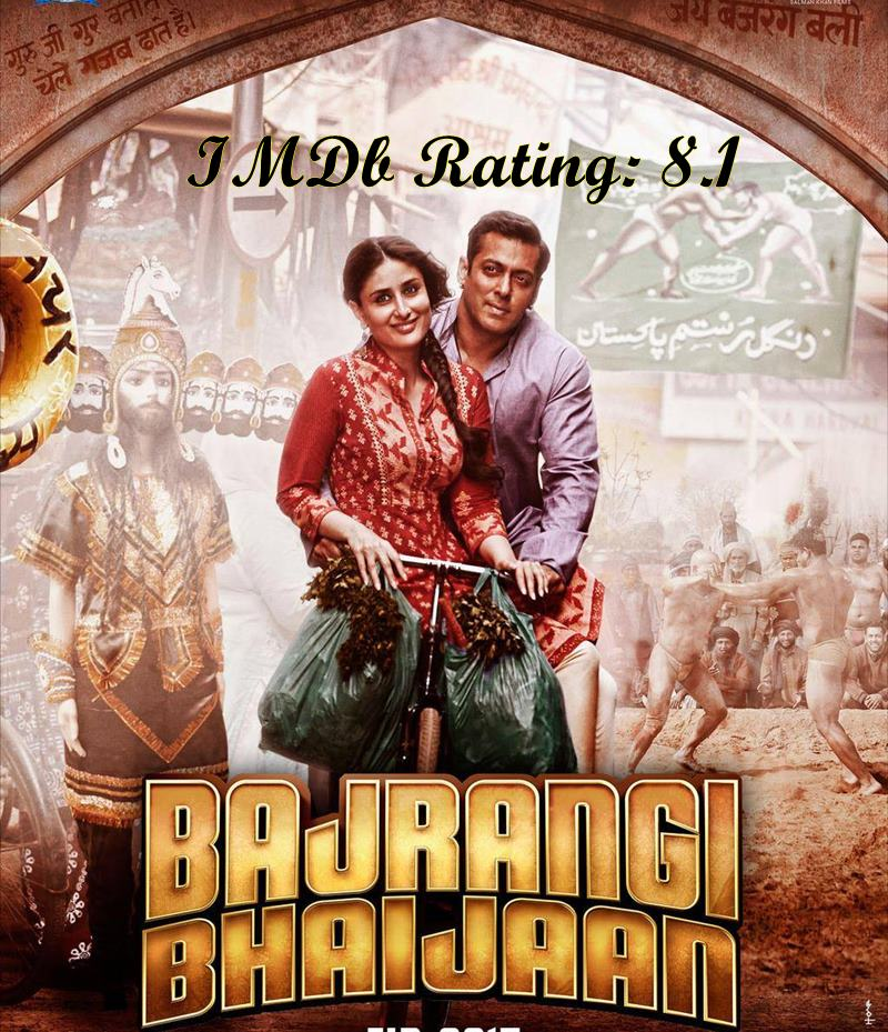 Top 10 Kareena Kapoor Khan Movies based on IMDb Ratings- Bajrangi Bhaijaan