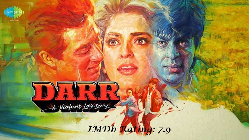 10 Best Shah Rukh Khan Movies Based on IMDb Ratings- Darr