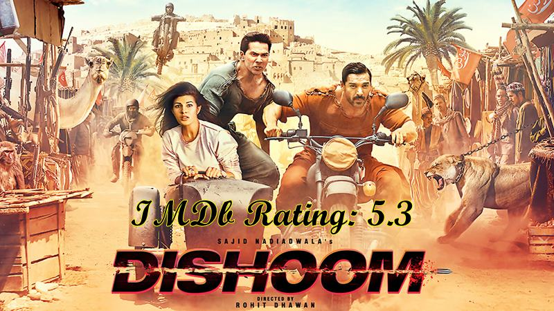 5 Best Varun Dhawan Movies based on IMDb Ratings- Dishoom