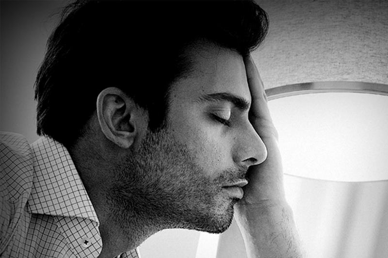10 Hot Pics of Fawad Khan that will make you swoon- Fawad sleepy